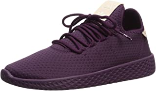adidas Originals Women's Pw Hu W Tennis Shoe, Red Night/Red Night/Off White, 8.5 M US