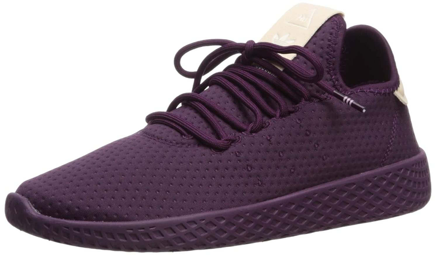 adidas Originals Women's Pw Tennis Hu W Running Shoe, red Night/Off White, 9 M US