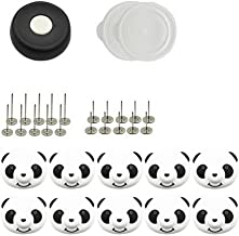 10 Pack Panda Buckles and Anti-Skid Pins Set Quilt Holder Bed Sheet Buckle Clips