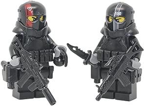 Modern Brick Warfare Army of Two Military Contractors Custom Minifigures