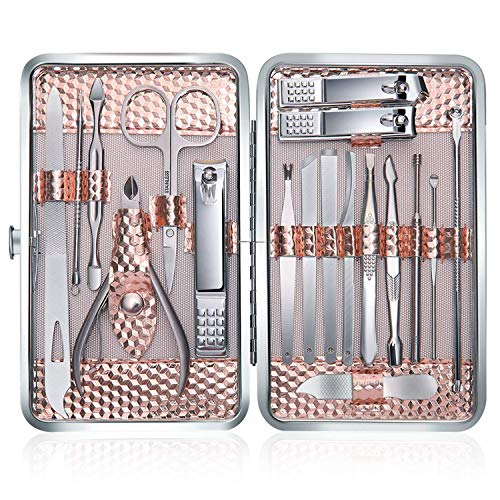 Tagliaunghie Set Professionale - Grooming Kit...