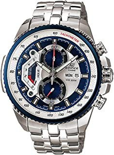 Casio Watch , for Men , Analog , Casual Watch , Stainless Steel - EF-558D-2AVUDF