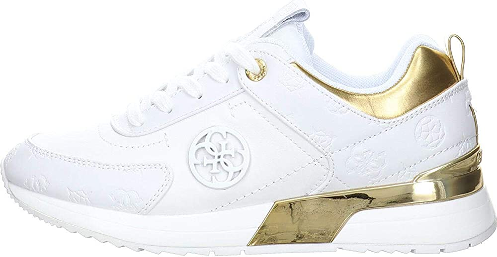 Guess sneakers in eco pelle da donna guess-fl5myn-fal12-white_0