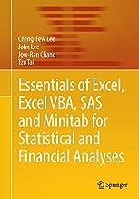 الأساسية من Excel ، Excel vba ، sas و minitab لهاتف statistical و الماليين analyses