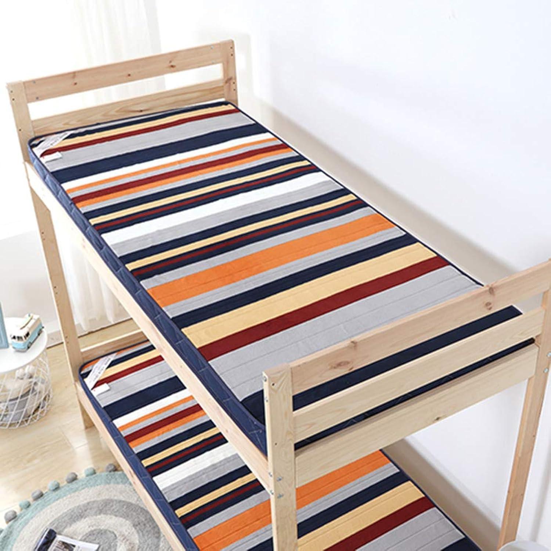 Student Dormitory Tatami Cushion,Tatami Mattress,Cushion,Padded Single Comfortable Multi-Function Floor Breathable-a 120x200cm(47x79inch)