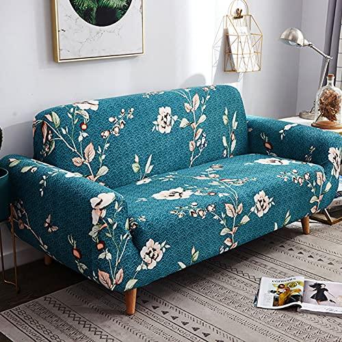 Funda de sofá todo incluido de alta elasticidad,Fundas de sofá elásticas con diseño elegante,Funda sofá universal Four Seasons Lazy,Cubiertas protectoras antideslizantes muebles N,1 seater