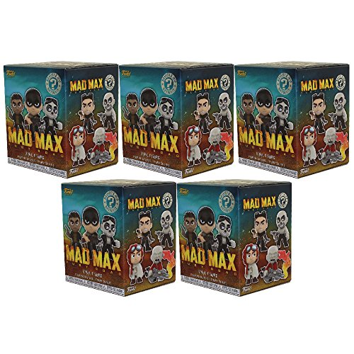 Funko Mystery Minis Vinyl Figures - Mad Max Fury Road - Blind Boxes (5 Pack Lot)