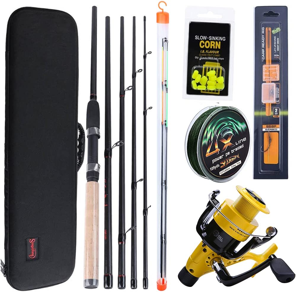 Fishing Max 63% OFF Rod Recommendation 3M Spinning Combo L Car M Feeder H Power