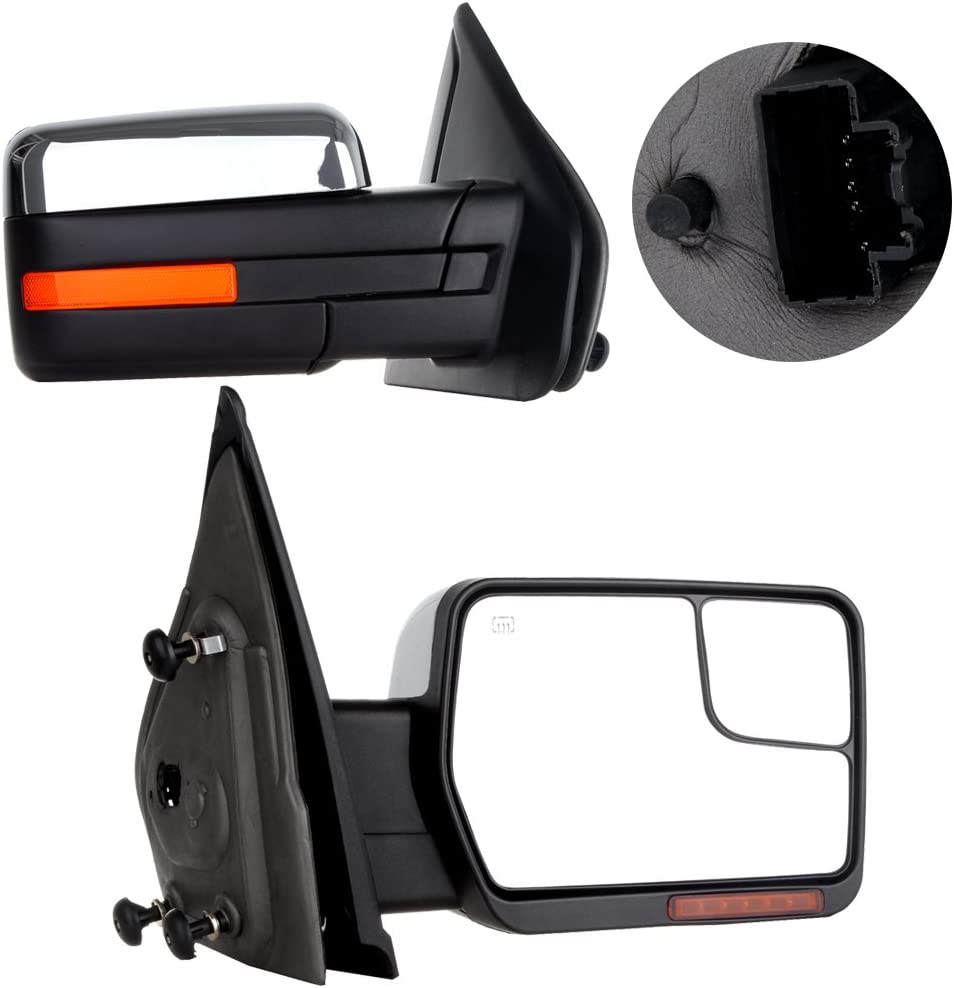 Yindina Tow Mirrors Replacement Cheap mail order specialty Max 64% OFF store for 2004-2014 Compatible For