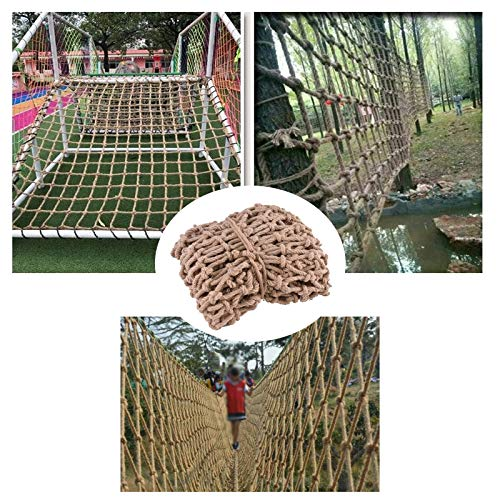 Rope Netting Fence, Balcony Railing Protection Fence Net Kids Climbing Netting Indoor Ceiling Decoration Safety Net Heavy Cargo Net Playground Hammock Protection (Size : 310m(1033ft))