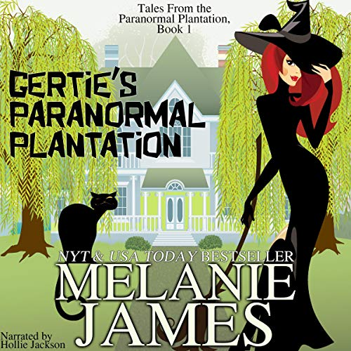 Gertie's Paranormal Plantation: A Paranormal Romantic Comedy audiobook cover art