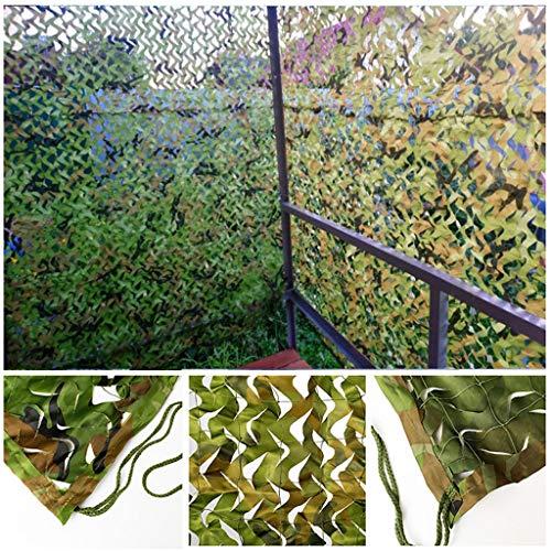 Camo Net Militärisches Tarnnetz Tarnung Netz Sonnenschutznetz für Fotografie Hintergrund Sonnenschirm Jagd Jalousien Gewächshaus Terrasse Patio Garten Rasen Pflanze Party Dekoration ( Size : 3x10m )