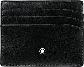 ec3c4ab92a Montblanc Meisterstuck Selection Black Leather Pocket Credit Card Holder  106653