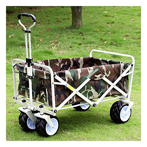 LLNN Foldable Outdoor Household Wagons and Trolleys Portable Children's Beach Buggy The Best