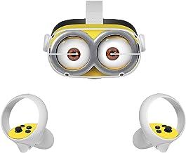 پوسترهای برچسب Vinyl Decal برای هدست و کنترلر VR Oculus Quest 2 ، لوازم جانبی برگردان محافظ واقعیت مجازی (زرد کوچک زیبا)