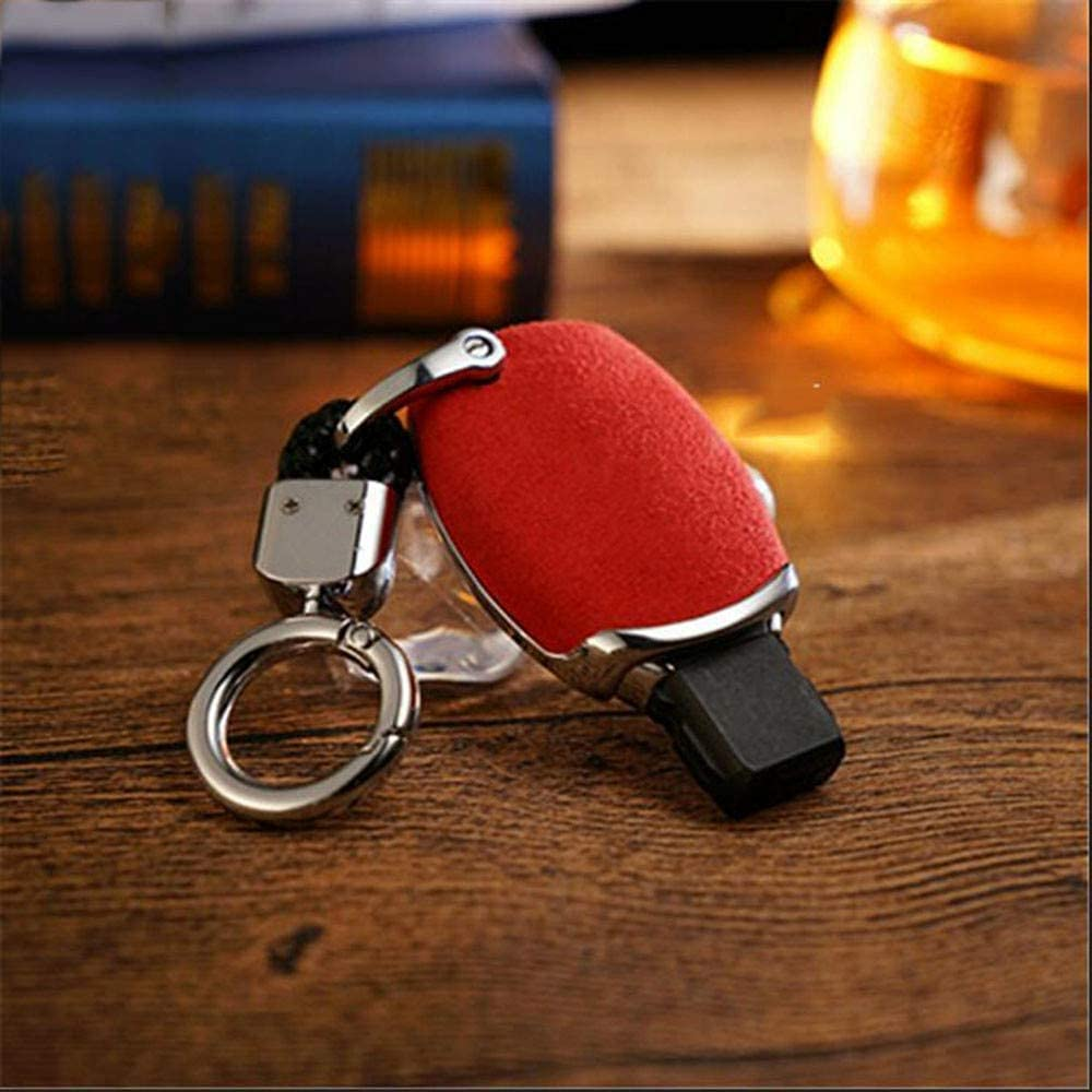 Car Keychain Ranking TOP10 Key Fob Case Galvanized Cover Challenge the lowest price Leather Alloy Wallet