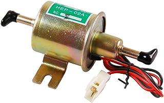 Universele Automotive Gemodificeerde HEP-02A 12V Heavy Duty Elektrische Brandstofpomp Metaal voor Benzine & Diesel (Gouden)