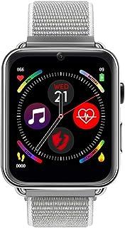Belupai LEMFO LEM10 4G - Smartwatch da uomo e da donna, GPS, WiFi, GSM, BT, frequenza cardiaca, HD, 2 MP