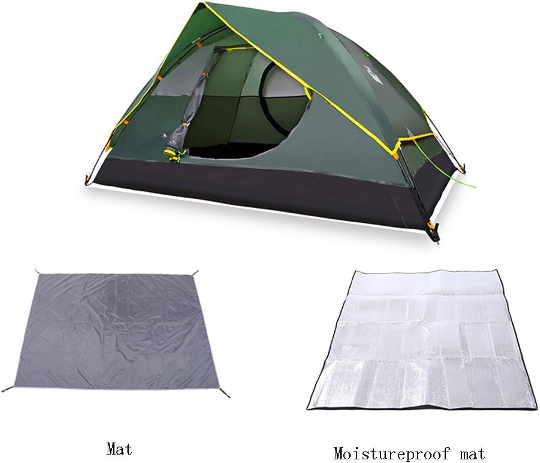 QFFL zhangpeng Zelt-Doppeltes faltendes Zelt Anti-Regensturm Mehrzweckzelt Mehrzweckzelt Mehrzweckzelt der Zelt-2 des Zelt-2 wahlweise freigestellt Tunnelzelte B07C23PT96  Liebessport, wirklich glücklich 5ffa88