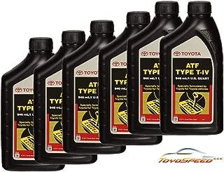 TOYOSPEED LLC 6 Pack ATF WS Transmission Fluid 00289-ATFWS FIT for 4 Runner HIGLANDER Tundra Tacoma