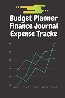 Budget Planner, Finance Journal Expense Tracker :: Financial monthly and weekly budget planner Budget planning Expense tra...