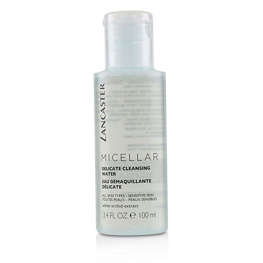 パパ違う刈るランカスター Micellar Delicate Cleansing Water - All Skin Types, Including Sensitive Skin 100ml/3.4oz並行輸入品