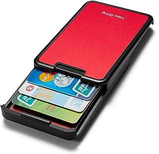 New-Bring Porta Tarjetas de Credito hombre RFID Blocking Billetera Money Clip Wallet para Hombre y Mujer, Tarjeta de Crédito, Tarjetero de Metal