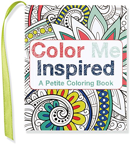 Color Me Inspired (mini coloring book)
