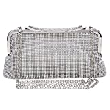 Evening Bags and Clutches for Women Vintage Style Crystal Rhinestone Handbag Wedding Party Clutch Purse