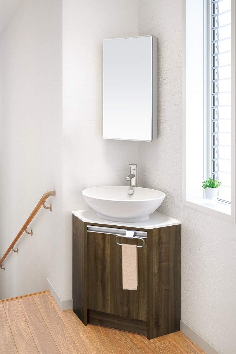 アサヒ製陶 コーナー洗面化粧台 VLM50KC1KIC