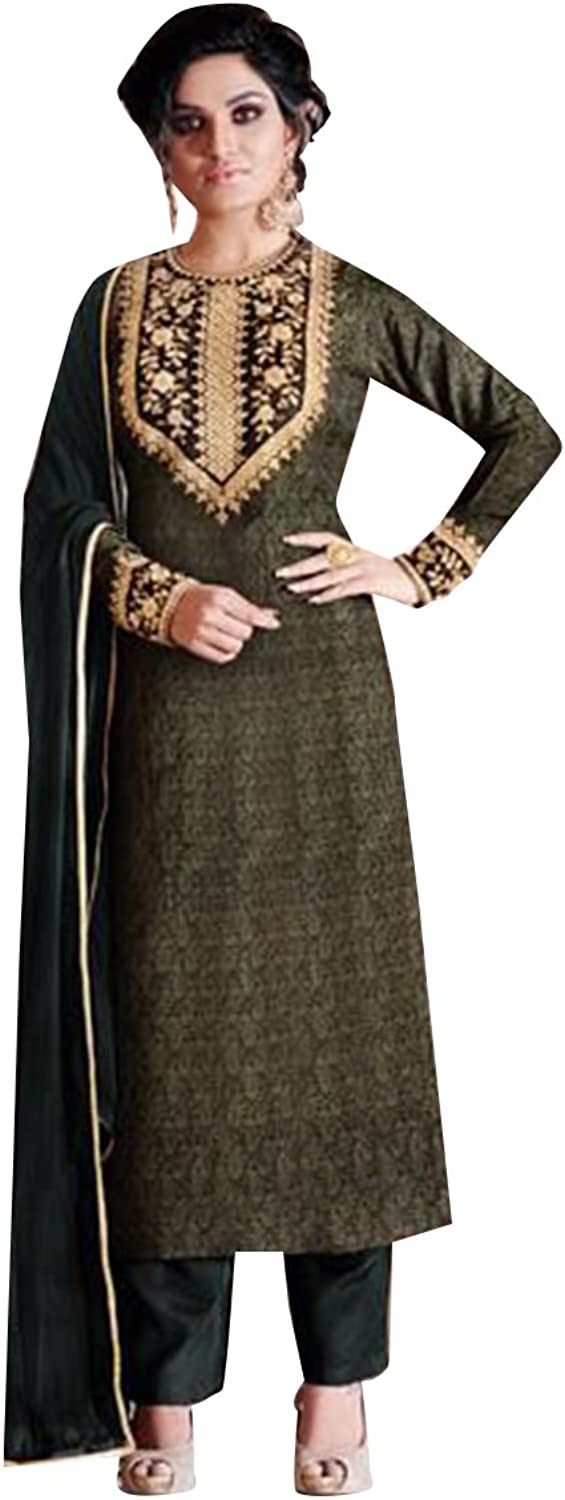 BOLLYWOOD DESIGNER NEW LAUNCH SALWAR KAMEEZ GOWN LONG HEAVY WEDDING CEREMONY PARTY WEAR BY ETHNIC EMPORIUM
