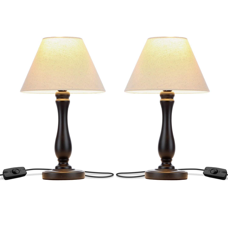 Brightech Noah Bedside Elegant Nightstand