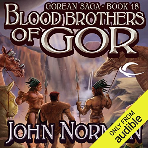 Blood Brothers of Gor audiobook cover art