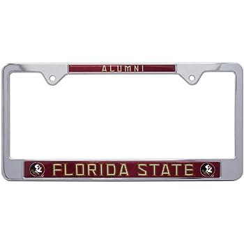 Elektroplate Rice Alumni Black License Plate Frame