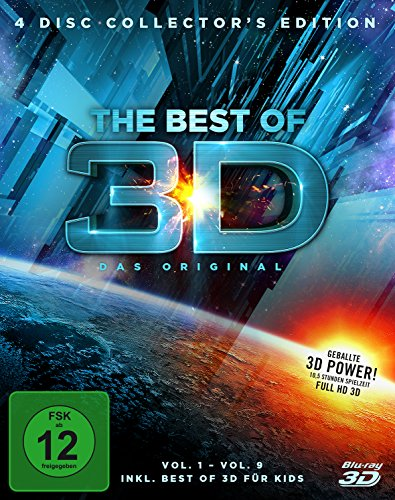 Best of 3D, 4 Disc Collector's Edition (exklusiv bei Amazon.de) [3D Blu-ray] [Limited Edition]