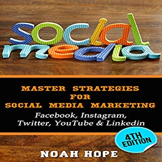 Social Media: Master Strategies for Social Media Marketing audiobook cover art