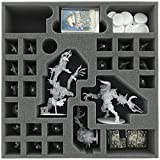 Feldherr AG065ZC19 65 mm (2.56 Inches) Foam Tray for Zombicide Black Plague Monsters and NPC's
