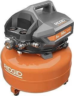 Ridgid ZROF60150HA 6 Gal. Portable Electric Pancake Compressor(Renewed)