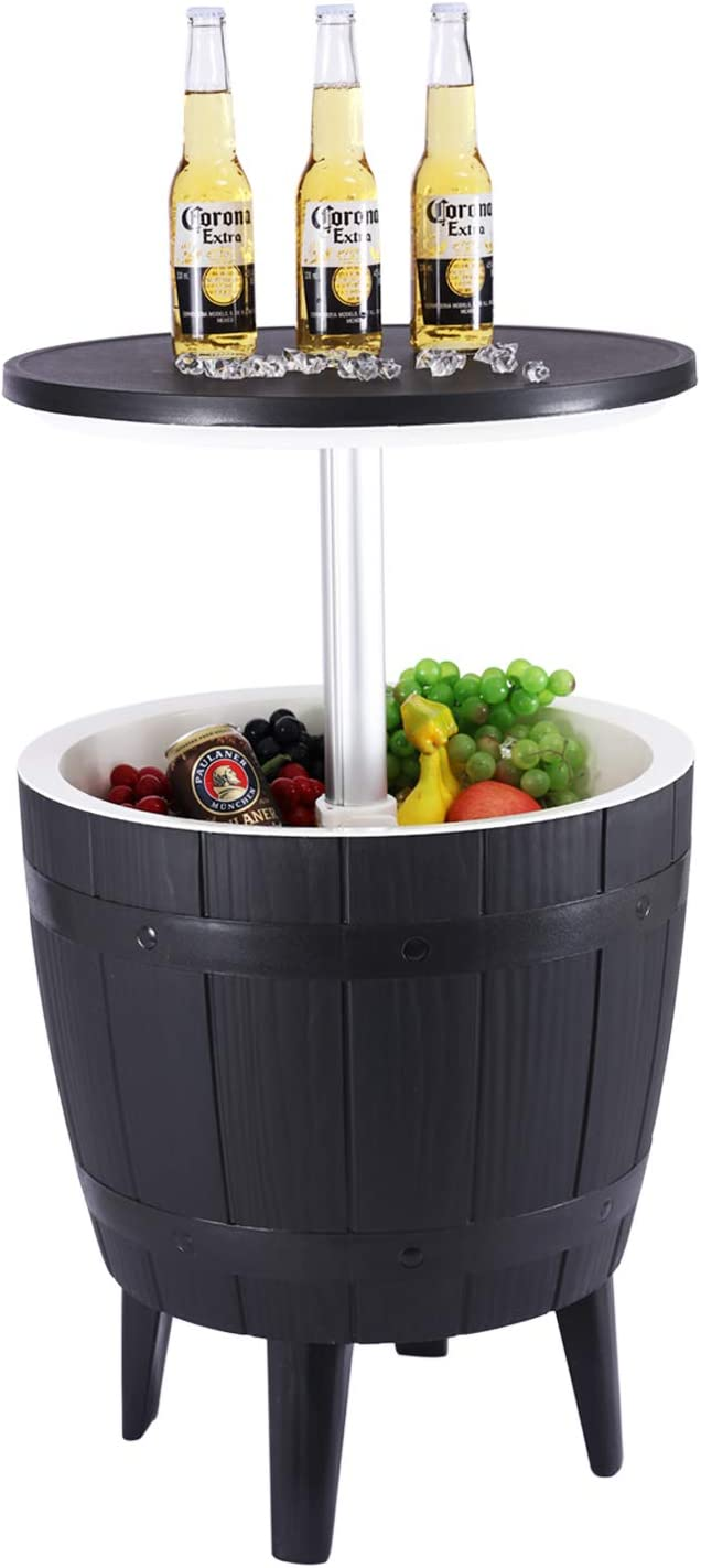 Do4U 37 L Cash special price Special Campaign 9.8 Gal Cool Table Furniture 4-in-1 + Bar Outdoor