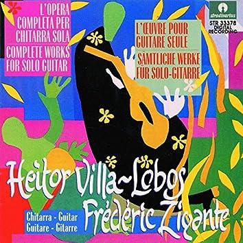 Villa-Lobos: Complete Works for Solo Guitar