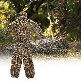 Mallalah Tenue Camouflage Ghillie Suit Ensemble Camouflage Tenue Suits Feuille Woodland Treillis Camo Tenue de Camouflage Jungle 3D Hunting Chasse