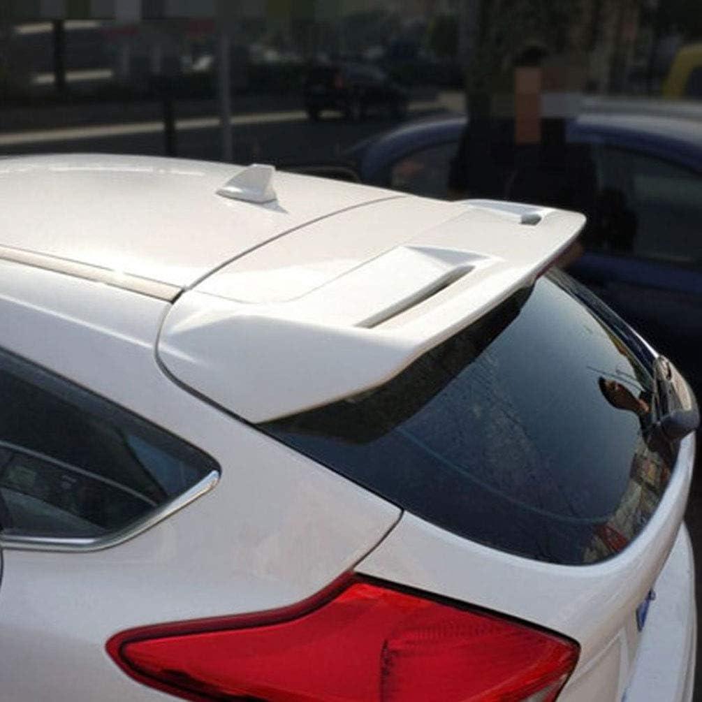 Para Ford Focus Hatchback ST Line 2012 2013 2014 2015 2016 2017 2018 ABS Aler/óN Trasero Coche Aler/óN Para Puerta Trasera Techo Maletero Aler/óN Trasero,Piezas Modificaci/óN Coche,1 Uds