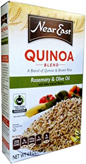 Near East QUINOA BLEND with ROSEMARY & OLIVE OIL 4.9oz (8 Pack)