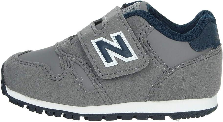 New Balance IV 373 FB Baby Scarpe Sneakers Grigie da Bambino