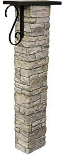 Best stone mailbox post kit Reviews