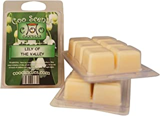 Coo Candles 3 Pack Soy Highly Scented Wickless Candle Bar Wax Melts - Lily of The Valley