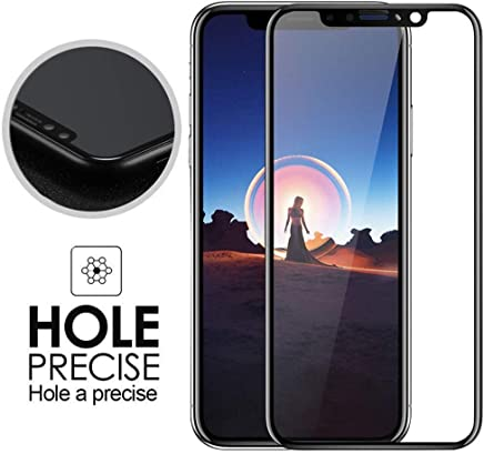 73e3c397f4e NEWTRENDING Tempered Glass Screen Protector 5D Curved Tempered Glass Screen  Film Anti-Scratch for iPhone