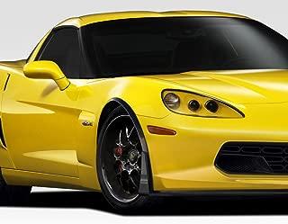Extreme Dimensions Duraflex Replacement for 2005-2013 Chevrolet Corvette C6 Stingray Z Front Fender Flares - 2 Piece