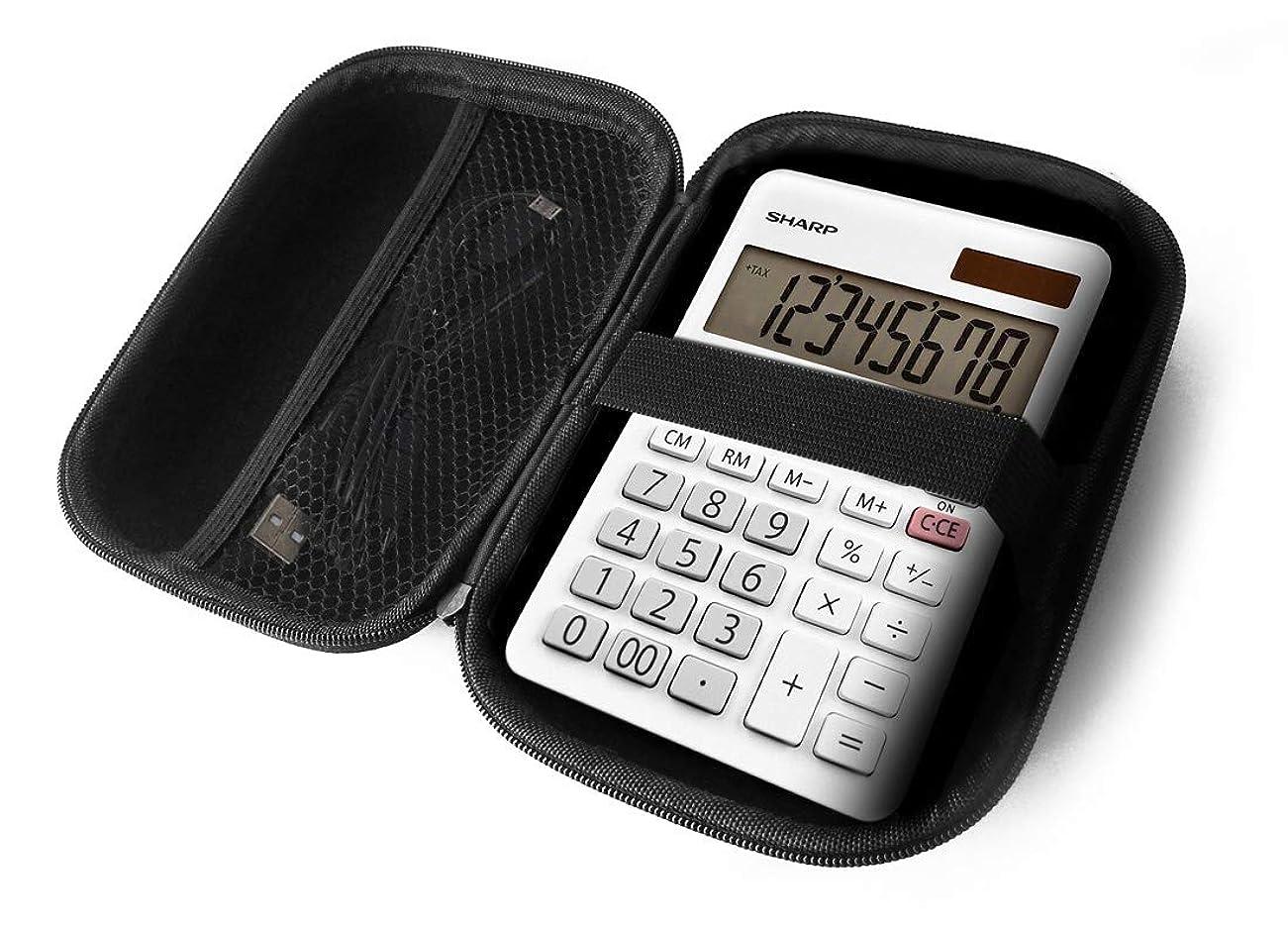 ミスのりクリックFitSand ハードケース Sharp EL-310WB ミニデスクトップ計算機