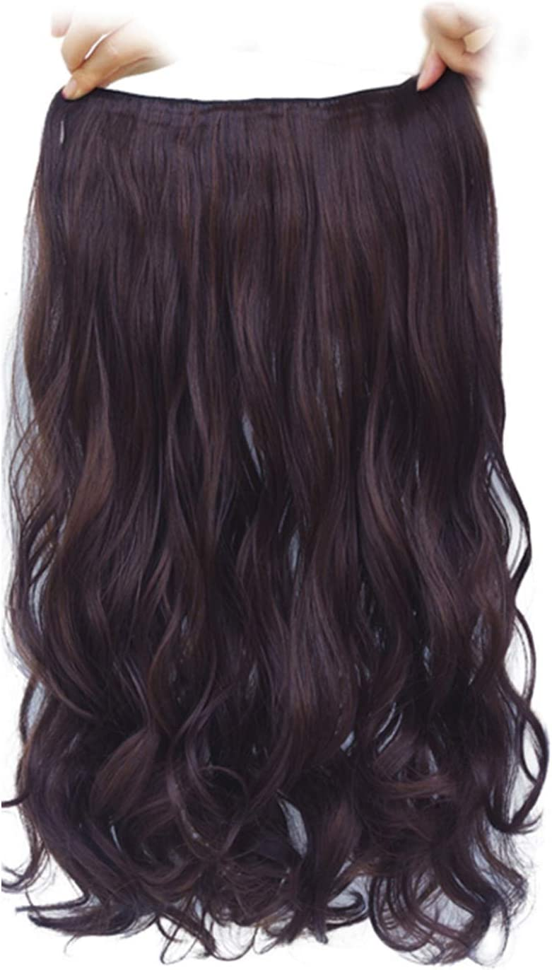 Max 88% OFF ZXCASDF Wigs Female Long Curly Li New color Net Natural Fluffy Red